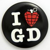Green Day - 'I Love Green Day' Large Button Badge